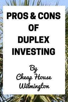 Ask any experienced real-estate investor what they think of duplexes, the response will nearly always be positive.A duplex is a great way for any beginner (or advanced investor!) to earn a great income source and a valuable asset. There are many reasons why duplexes are so popular, including:  Pros:  The design: At a …