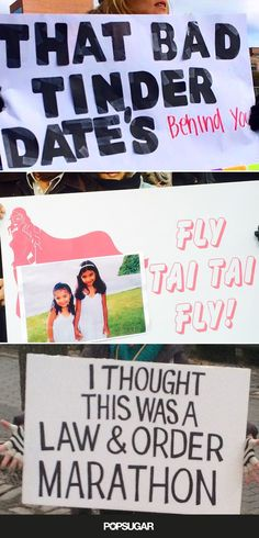 These Signs Spotted at the NYC Marathon Will Definitely Brighten Your Day