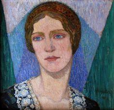 fleurdulys:  Portrait of Johanna Schulze - Heinrich Vogeler