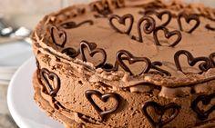 Arabescos de chocolate - Decoração