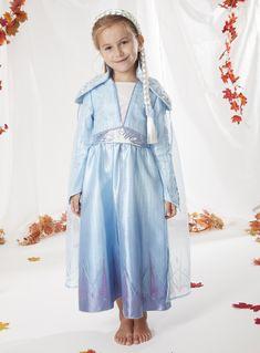 Frozen 2 Deluxe Costume di Elsa S Multicolore