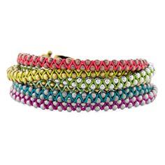 Zig Zag Bracelets #knots #macrame
