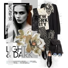 black leggings Fashion Set