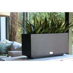 Veradek Metallic Series Long Galvanized Steel Planter Box & Reviews | Wayfair