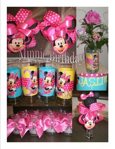 Minnie Mouse Birthday Decor  ~audjiefied