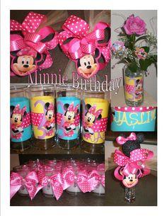 Minnie Mouse Birthday Decor  ~audjiefied