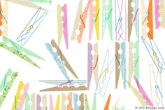 Illustration - Patterns - Amy van Luijk