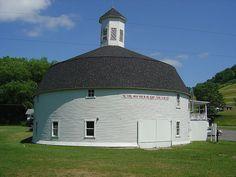 Hamilton Round Barn  Mannington,WV