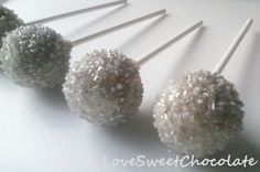 Items similar to Silver Bells Cake Pops on Etsy Girl Birthday, Birthday Parties, Cupcake Cakes, Cupcakes, Pure Fun, Frozen Party, Cakepops, Pastries, Sweet Tooth
