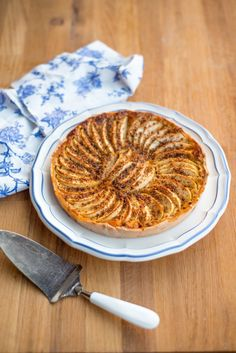 Apfeltarte mit Krokant und die Gewinner   Französisch Kochen by Aurélie Bastian   Bloglovin'