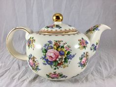 Vintage #RoyalAlbert #LadyCarlyle #Teapot