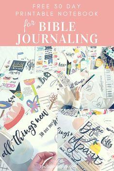 Bible journaling fre