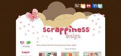 Blog Design ♥ Scrappiness Designs
