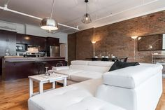 Check out this awesome listing on Airbnb: Old Mtl: Spacious & Modern Loft Beside Notre Dame - Apartments for Rent in Montréal