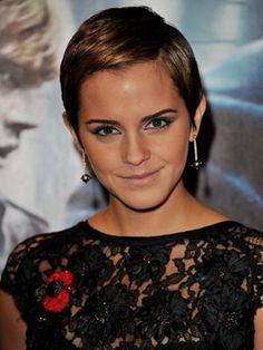 Emma Watson - love the hair love the makeup love her