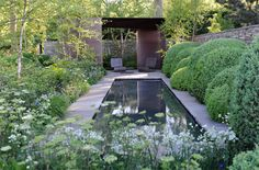 Tom Stuart Smith- Lauren Perrier Chelsea 2010.   My most favourite garden ever, and I love his gardens at Wisley....one day.....who knows...
