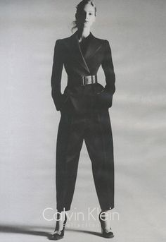 CALVIN KLEIN Model: Vanessa Axente  Photographers: Mert & Marcus