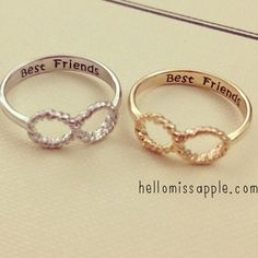 I NEED THESE RINGS FOR ME AND MY FRIEND!!!❤