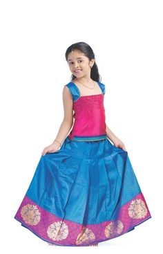 Inspiration for a Mithoian girl's clothes