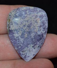 Purple Haze Jasper Guitar Pick Large Hand made by Highrroad, $17.00