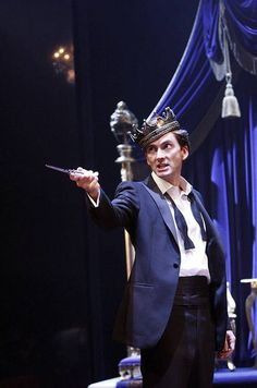 hamletobsessed:    David Tennant as Hamlet.