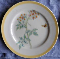 Williams-Sonoma Flowering Herbs salad plate...