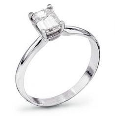 beautiful emerald cut engagement ring, simplicity is the way to go. This is my exact ring. I love it more every day :)