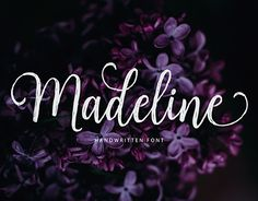 """Check out new work on my @Behance portfolio: """"Madeline Script (40% Off)"""" http://be.net/gallery/54655575/Madeline-Script-(40-Off)"""