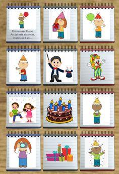 Cutiuța cu povești: Petrecerea - Logorici Advent Calendar, Activities For Kids, Holiday Decor, Advent Calenders, Children Activities, Kid Activities, Petite Section, Kid Crafts