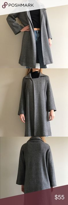 Classy 100% cashmere Neiman Marcus coat Super classy and beautiful cashmere coat. Absolutely great quality and in a perfect condition. Can be worn with dresses, pants or jeans as well as different kind of footwear. Neiman Marcus Jackets & Coats