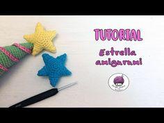 Estrella Amigurumi - PATRÓN + TUTORIAL/ Amigurumi star - PATTERN - YouTube