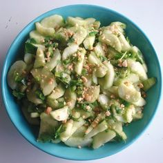 Spicy Cucumber Salad – Inspired RD