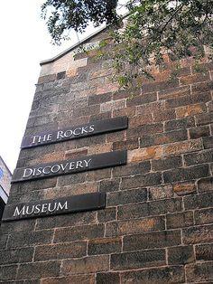 The Historic Rocks District in Sydney, Australia