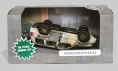"Urban Collectables ""the petrol bombed jeep"""