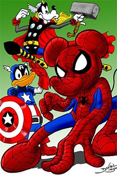 When Disney bought Marvel Comics . - Reader Addicted - When Disney bought Marvel Comics … – Reader Addicted - Marvel Comics, Marvel Heroes, Marvel Characters, Disney Characters, Disney And More, Disney Love, Disney Mickey, Disney Pixar, Disney Marvel