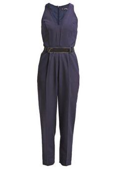 PLUNGE - Jumpsuit - navy blue