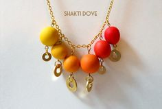 Shakti•Dove: DIY Necklace: Spiffying up hardware with ombre