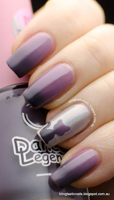 Dance Legend Termo Trio3 with nail polish cat decal