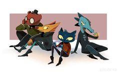 sorry i've been so dead recently - we've been workin real hard on our group film!! in the meantime here's some fanart for NitW which i recently finished - RAD GAME (it shares a lot of elements with my...