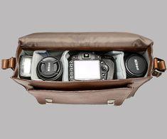 Fancy - The Brooklyn Leather Camera Satchel by ONA
