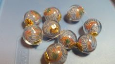 Dragon Oriental Style Glass Beads