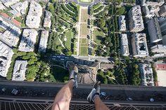Skywalking: Above Paris, France