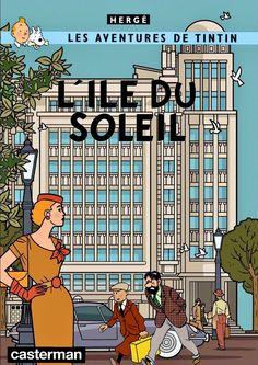 Les Aventures de Tintin - Album Imaginaire - L'Île du Soleil