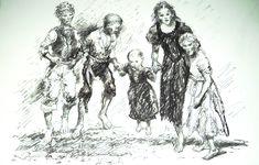 Poor House Children Brixham by Peter Archer. Archer, Saints, Mary, Children, House, Sterling Archer, Young Children, Boys, Home