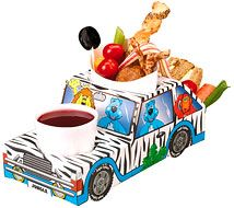 Jungle Safari Jeep Food Tray