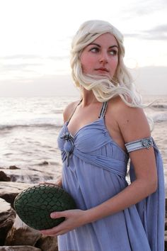 Game of Thrones Cosplay- daenerys targaryen. And I have a dress that is already that color....