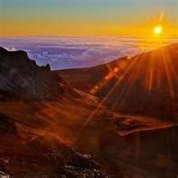 Haleakala sunrise. 