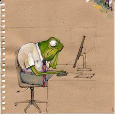 「frog illustration」の画像検索結果