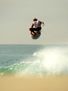 """""""Surfing's one of the few sports that you look ahead to see what's behind"""" Laird Hamilton"""