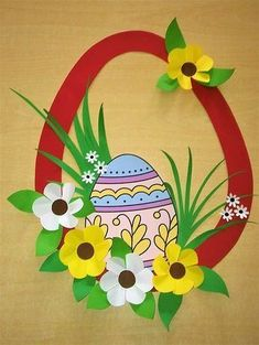 Cake Ideas Easter Holidays 64 Ideas For 2019 Easter Arts And Crafts, Diy Arts And Crafts, Spring Crafts, Paper Crafts, Diy Crafts, Easter Holidays, Preschool Crafts, Paper Flowers, Art For Kids